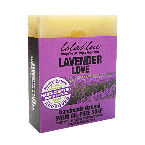 LolaBlue-  Soap  Lavender Love