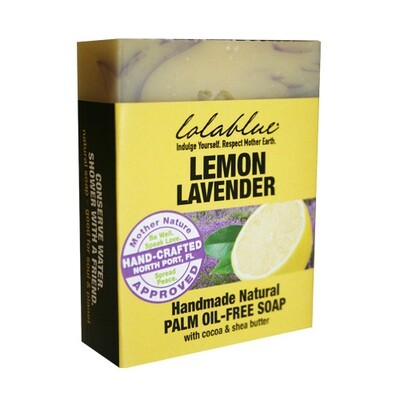 LolaBlue-  Soap  Lemon Lavender
