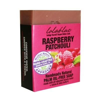 LolaBlue-  Soap  Rasberry Patchouli
