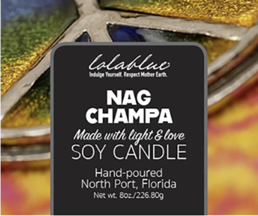 Lolablue-Candle-Nag Champa