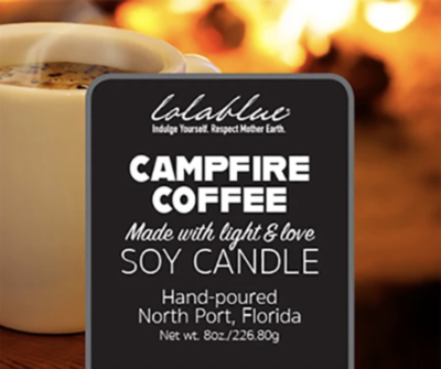 Lolablue-Candle-Campfire Coffee