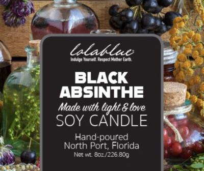 Lolablue-Candle-Black Absinthe