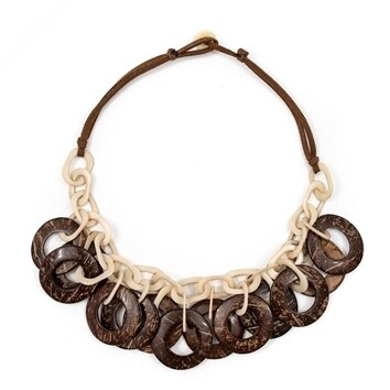 Tagua-Gaby Necklece-Ivory