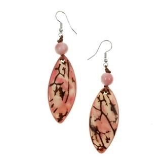 Tagua_Luz Earrings Pink-IE411-pk