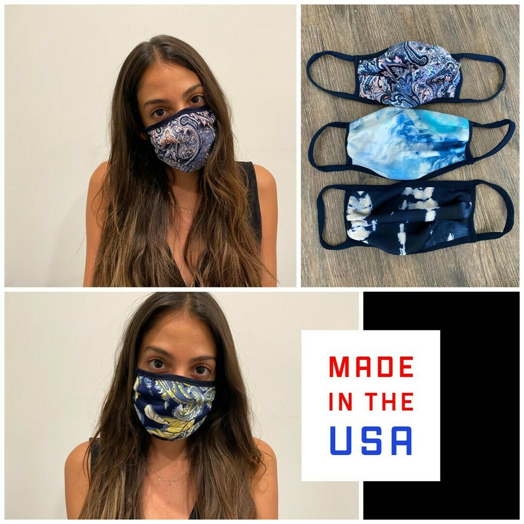 Ariella-Adult Assorted patterned Face Masks