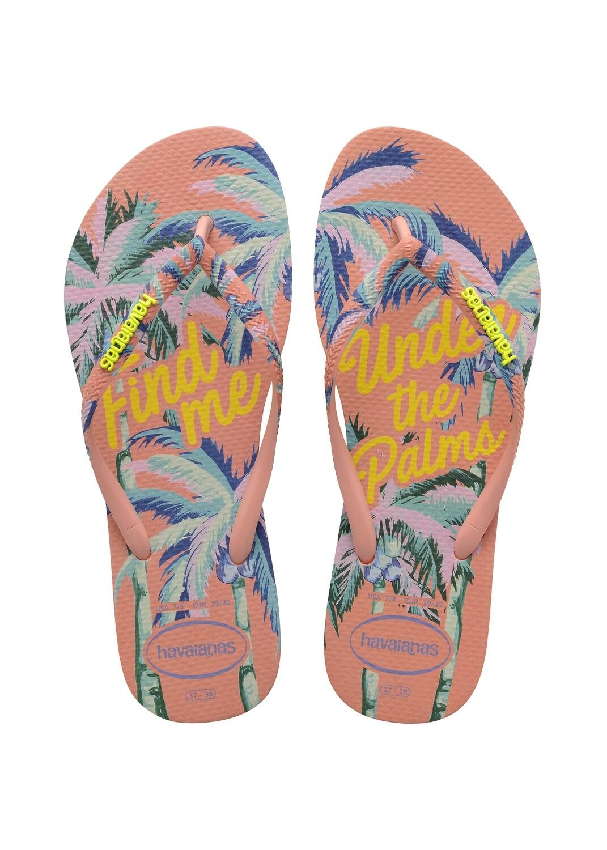 Havaianas - Slim Summer Flip Flops (Size 11/12) - Silk Rose