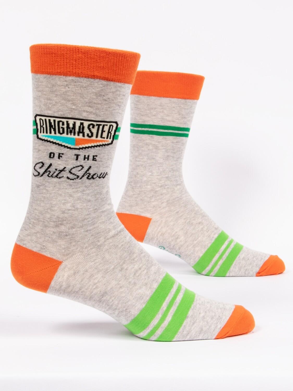 Blue Q Mens Socks - Ringmaster of the Shit Show