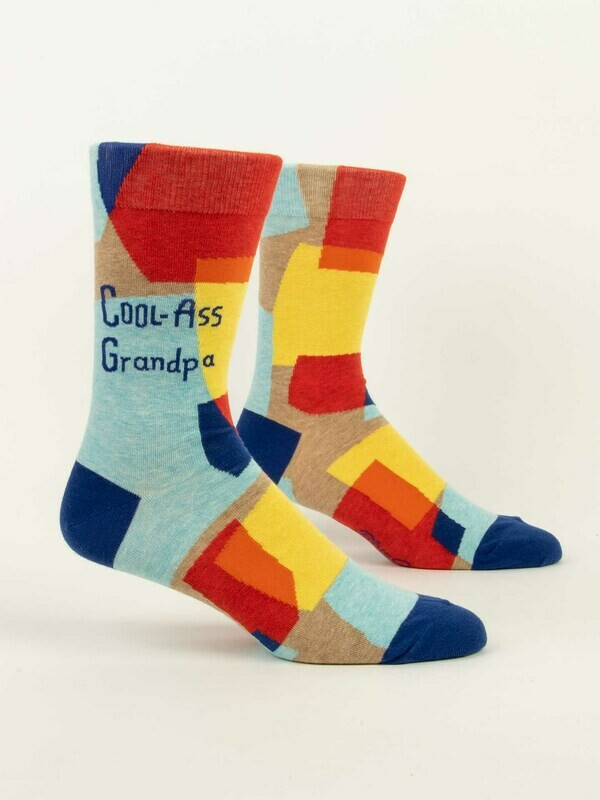 Blue Q Mens Socks - Cool Ass Grandpa