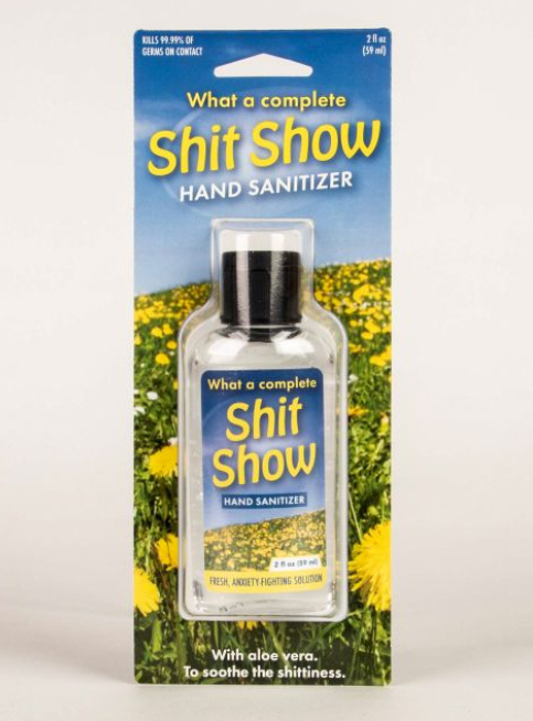 Blue Q Hand Sanitizer - What a Complete Shit Show