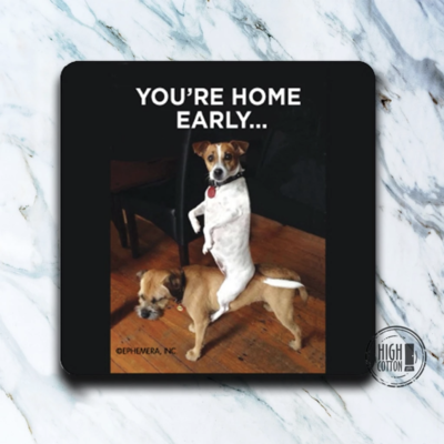 High Cotton Coasters-Home early