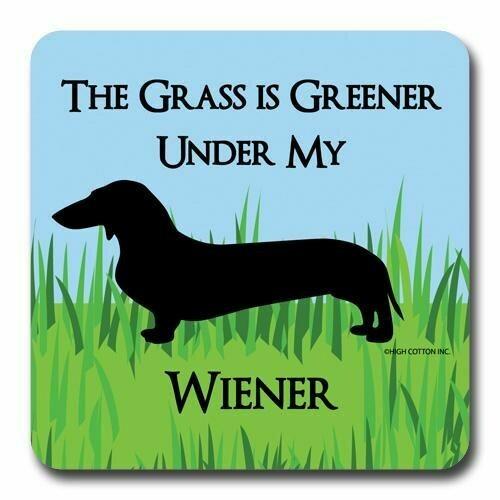 High Cotton Coasters-Greener Wiener