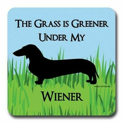 High Cotton Coasters-Greener Wiener