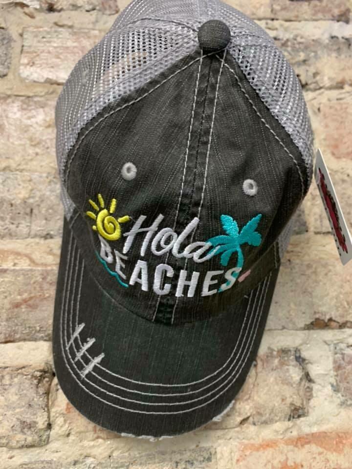 Hat - Hola Beaches Trucker Hat