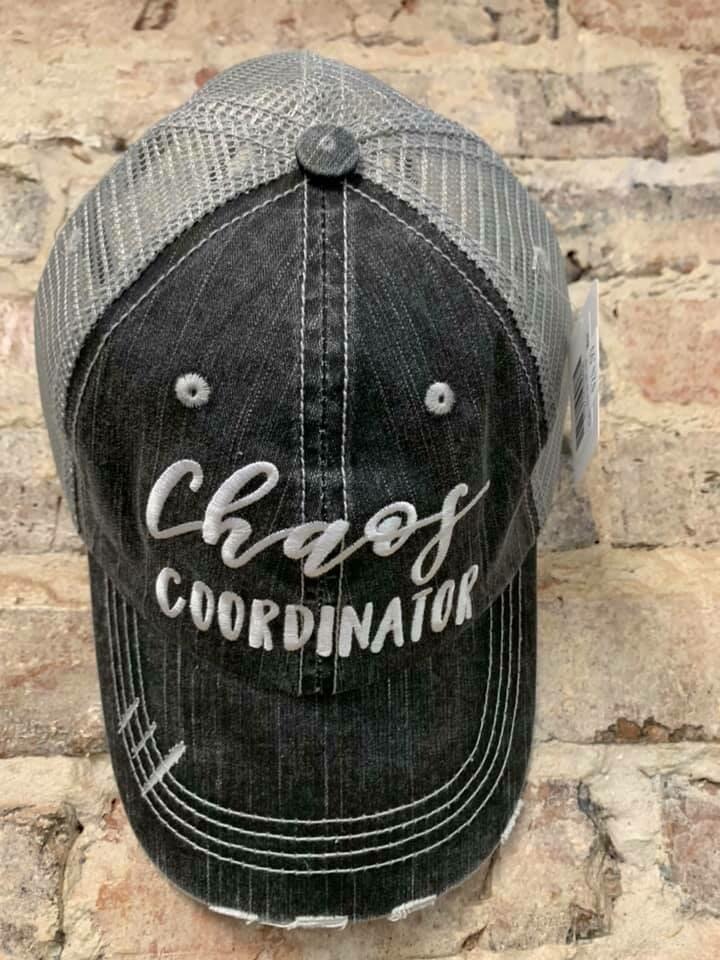 Katydid Hat- Chaos Coordinator Trucker Hat