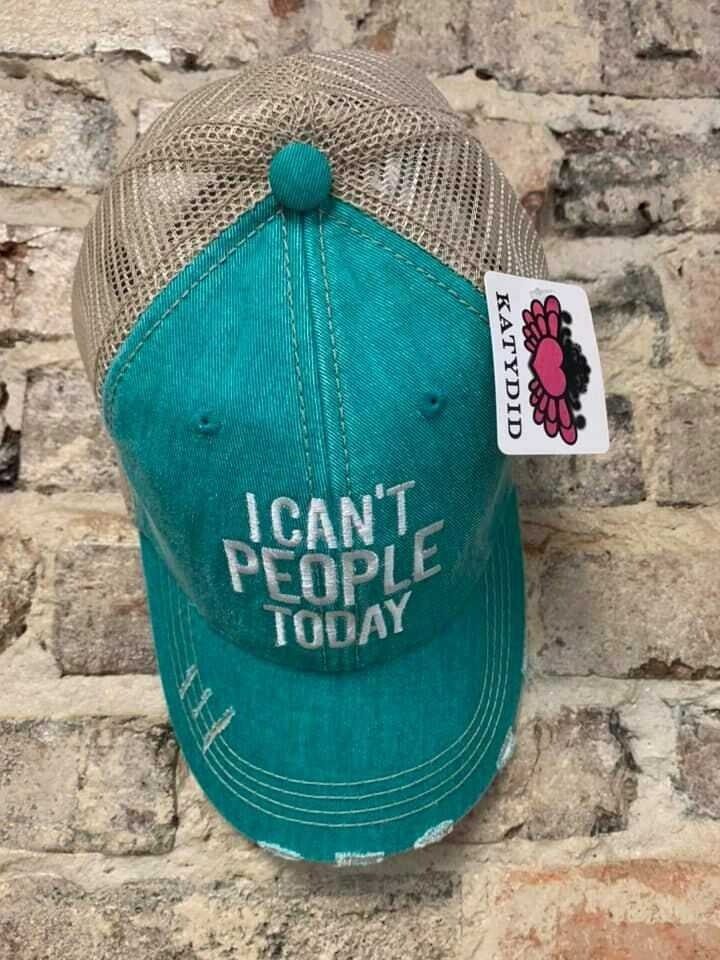 Hat - I Can't People Trucker Hat