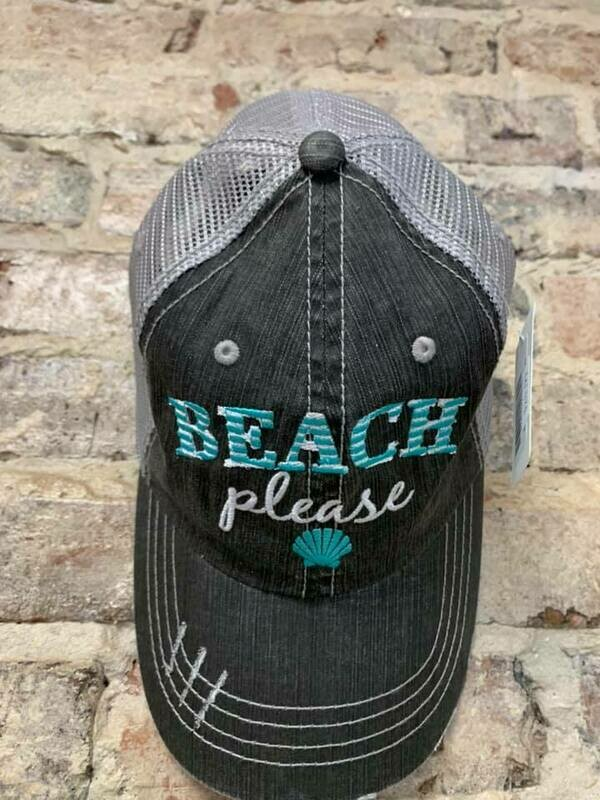 Hat - Beach Please Trucker Hat