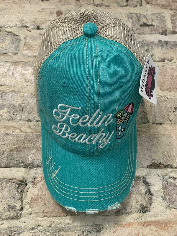 Hat - Feelin' Beachy Trucker Hat