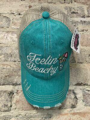 Hat-  Feelin' Beachy Trucker Hat