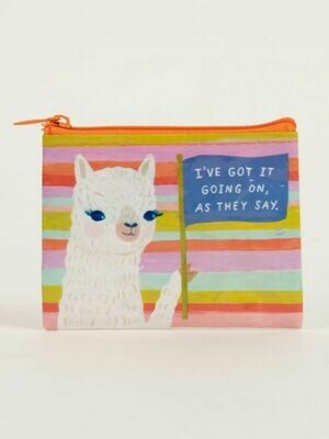 Blue Q Coin Purse - I'VE GOT IT GOING ON