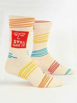 Blue Q Mens Socks - Still Got It
