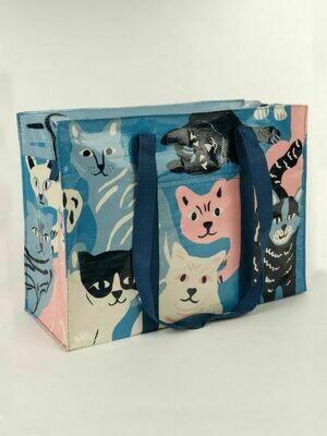 Blue Q Tote Bags - HAPPY CATS SHOULDER TOTE