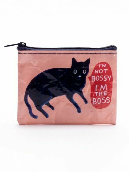 Blue Q Coin Purse - I'M NOT BOSSY. I'M THE BOSS