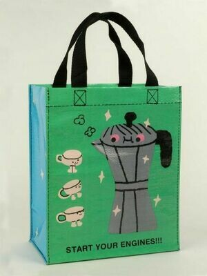 Blue Q Tote Bags - START YOUR ENGINES HANDY TOTE