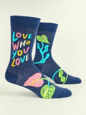 Blue Q Mens Socks - Love Who You Love