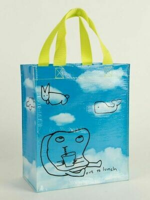 Blue Q Tote Bags - OUT TO LUNCH HANDY TOTE