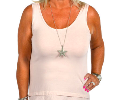 CLW - Raw Edge Cotton Extender (One Size) Necklace Included