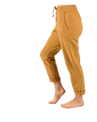 CLW - Camel Rolled Cuff Pants (One Size)