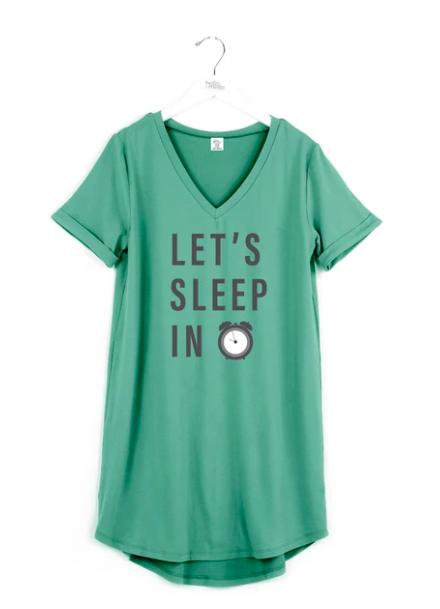Hello Mello - Sleep Shirt - Lets Sleep In