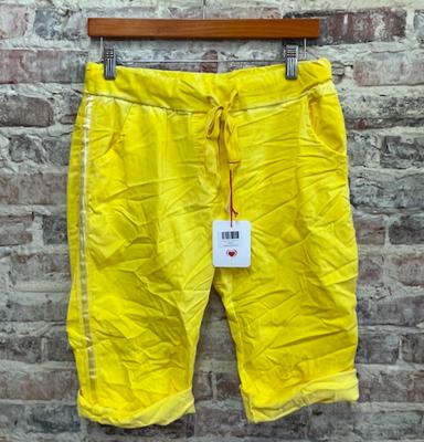 Lookmode ONE SIZE Shorts- Yellow
