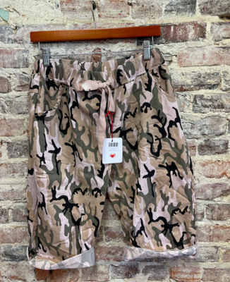 Lookmode - ONE SIZE Camo Shorts - Pink