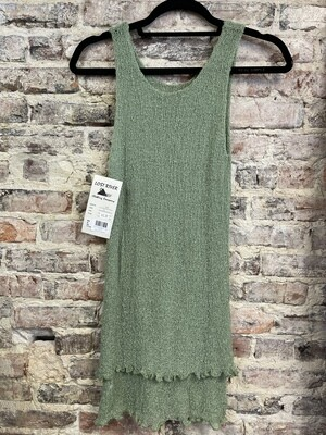 Lost River - Sleeveless Long Knit Tunic - ONE SIZE