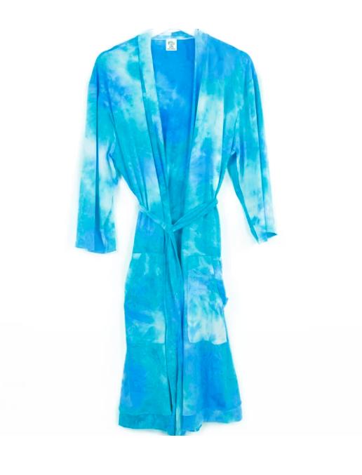 Hello Mello - Dyes The Limit Robe - Aqua