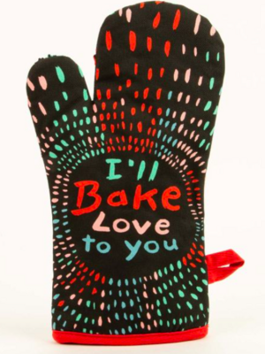 Blue Q Oven Mitt - I'll Bake Love