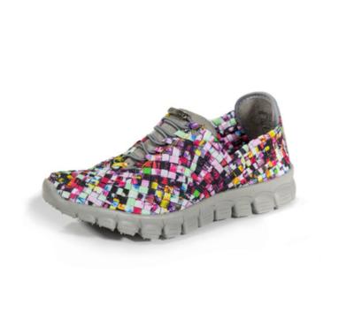 Zee Alexis - DANIELLE - Mosaic Multi Woven Sneakers