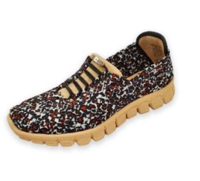 Zee Alexis - DANIELLE - Sandstone Woven Sneakers