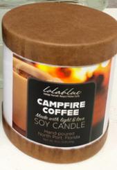 Lolablue Candle - Campfire Coffee