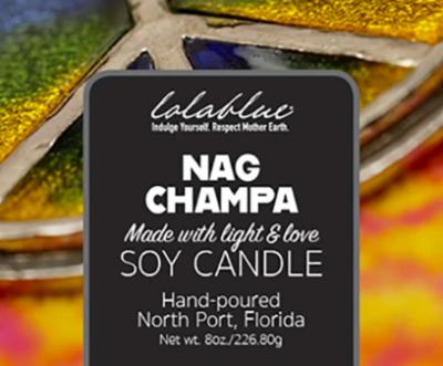 Lolablue Candle - Nag Champa