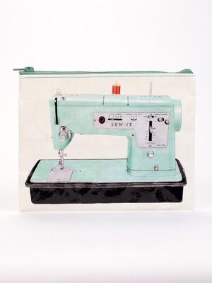 Blue Q Zipper Pouch- Sew It