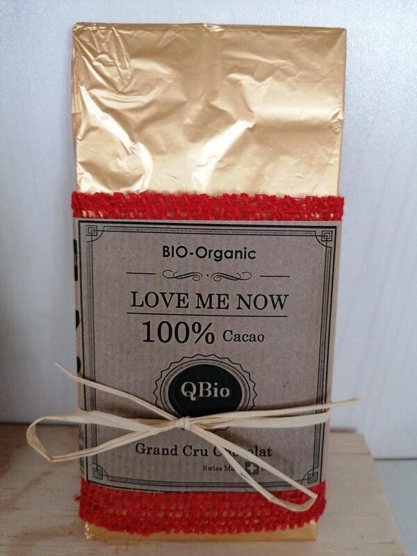 Love me now - 100% Cacao Schoggi