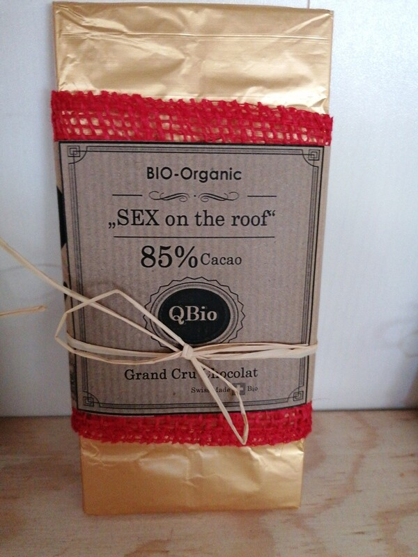 Sex on the roof - 85% Cacao Schoggi