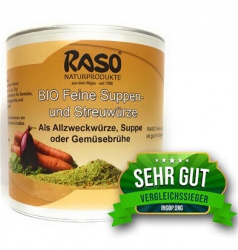 Bio-Feine Suppen- und Streuwürze