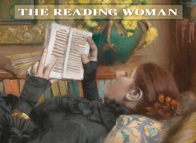 The Reading Woman: Boxed Notecards