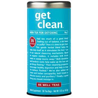 Get Clean Tea Bags