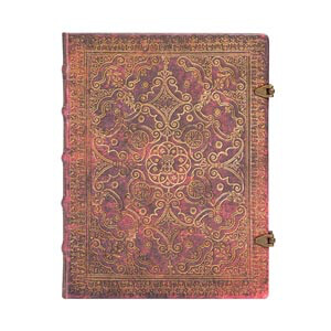 Carmine Midi Lined Journal