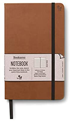 Bookaroo Notebook Brown