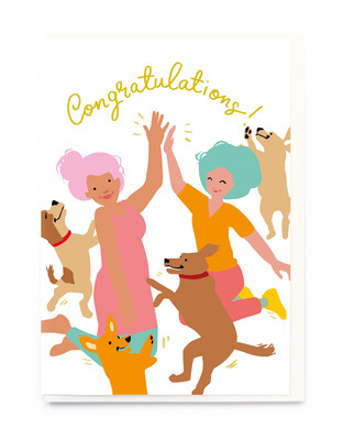 Congratulations! High Five Card